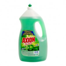 Jabón para trastos liquido Axion 2.8lt.
